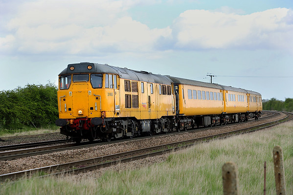 31465 New Barnetby 14/4/2014 1Q14 0556 Derby RTC-Doncaster LIP (via beeston, Worksop, Cleethorpes, Barton on Humber and Grimsby Town)
