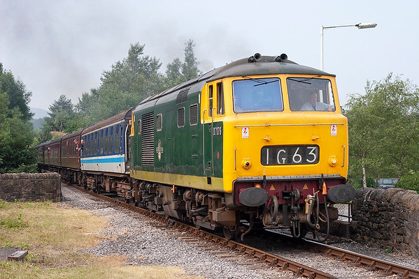 D7076 Rawtenstall 6/7/2006 1G63 1000 Bury Bolton Street-Rawtenstall