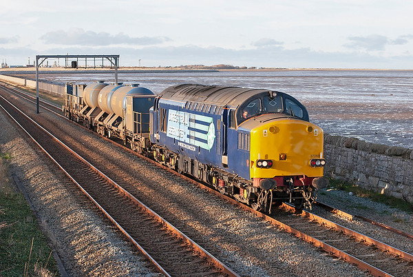 37069 Ffynongroyw 25/11/2008 3J96 0849 Crewe Gresty Bridge-Crewe Gresty Bridge (via Holyhead)