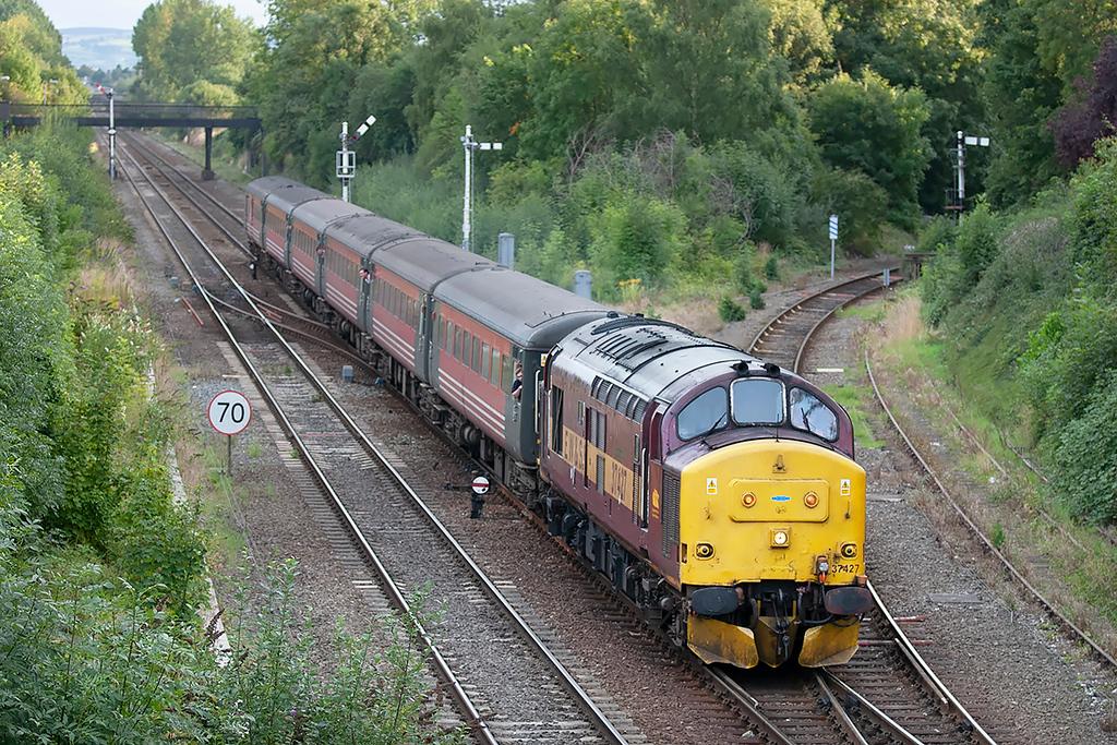 37427 Sutton Bridge Junction 27/8/2005<br /> 1Z89 1644 Cardiff Central-Crewe