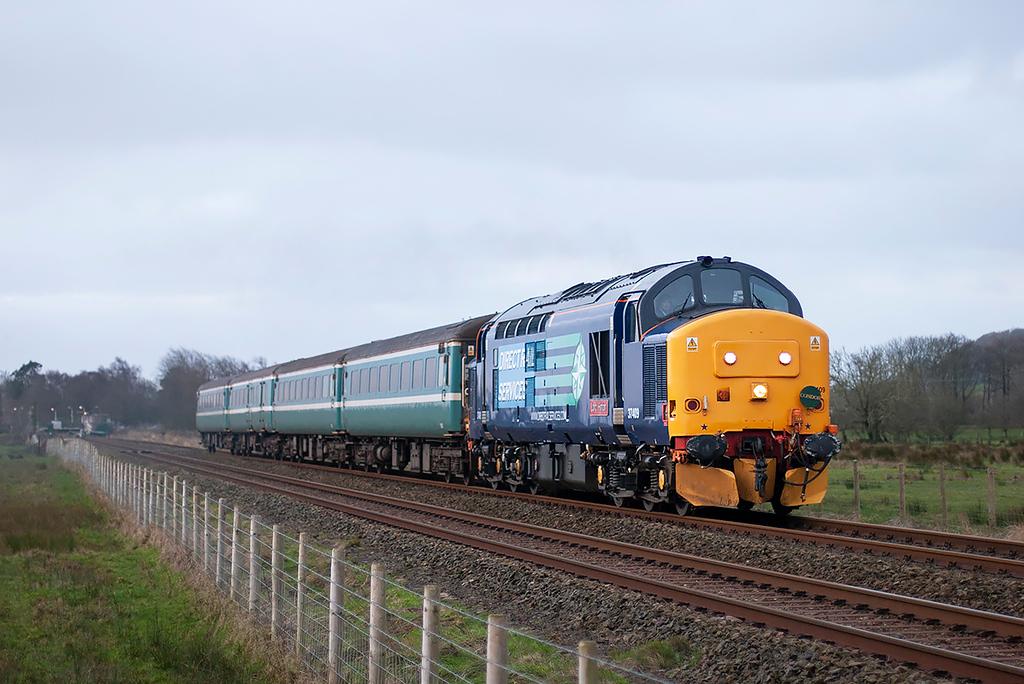 37409 Green Road 12/1/2012<br /> 2T20 0615 Carlisle-Barrow in Furness