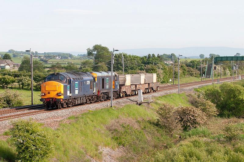 37259 and 20305 Elmsfield 7/6/2006<br /> 6C52 1638 Heysham-Carlisle Kingmoor
