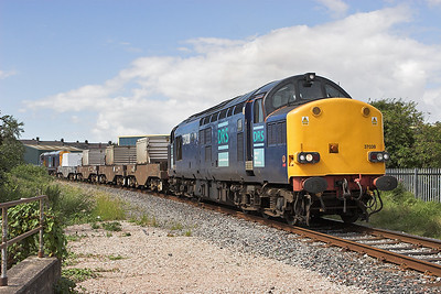 37038 and 20302, Morecambe 8/8/2007 6C51 1237 Sellafield-Heysham