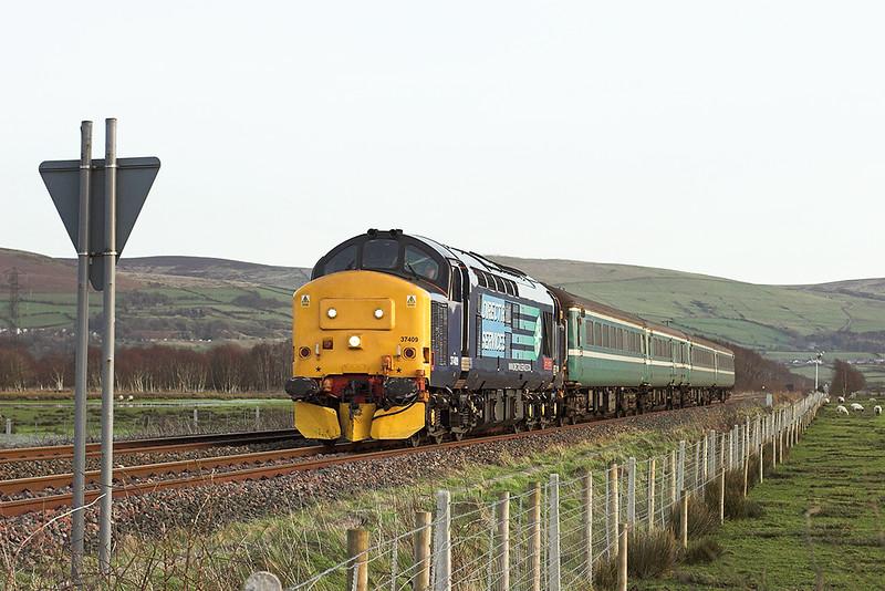 37409 Foxfield 12/1/2012<br /> 5T21 1539 Barrow in Furness-Sellafield