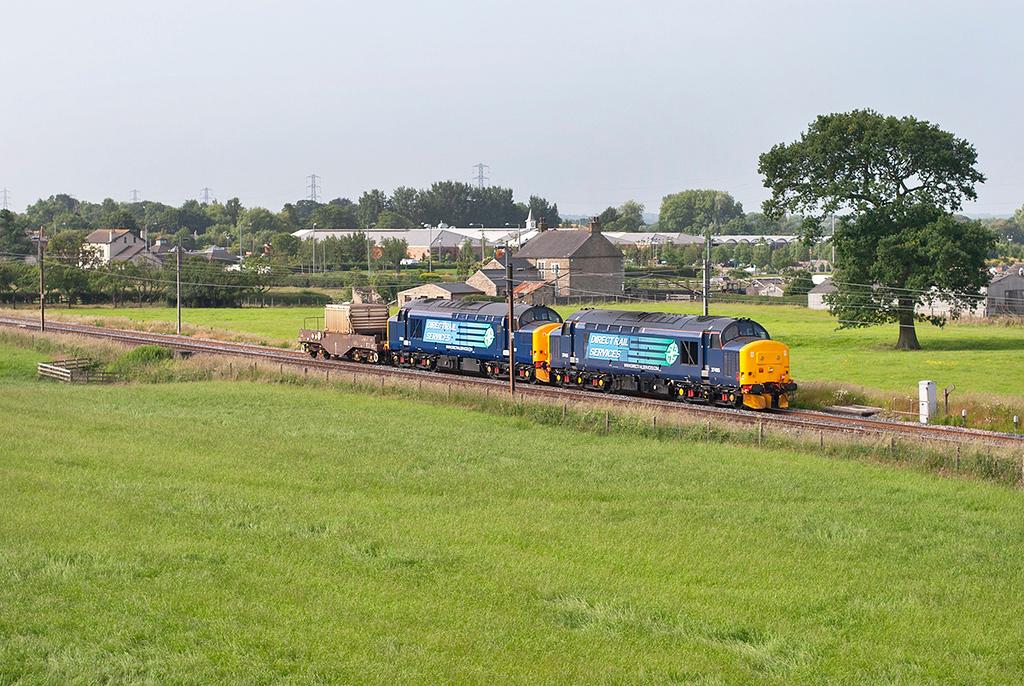 37405 and 37261 Brock 11/7/2013<br /> 6C51 0827 Crewe CLS-Sellafield
