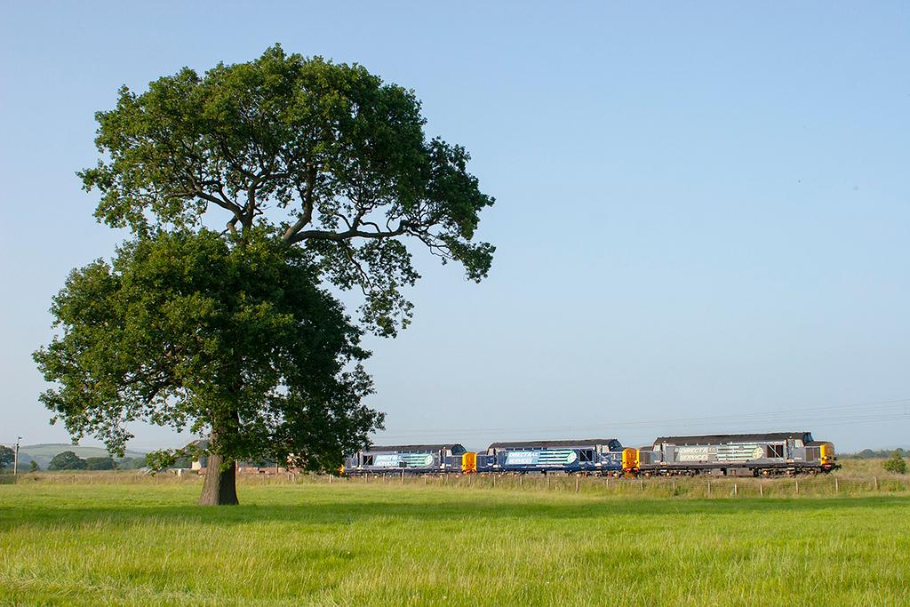 37611, 37261 and 37405 Brock 11/7/2013<br /> 6K73 1718 Sellafield-Crewe CLS