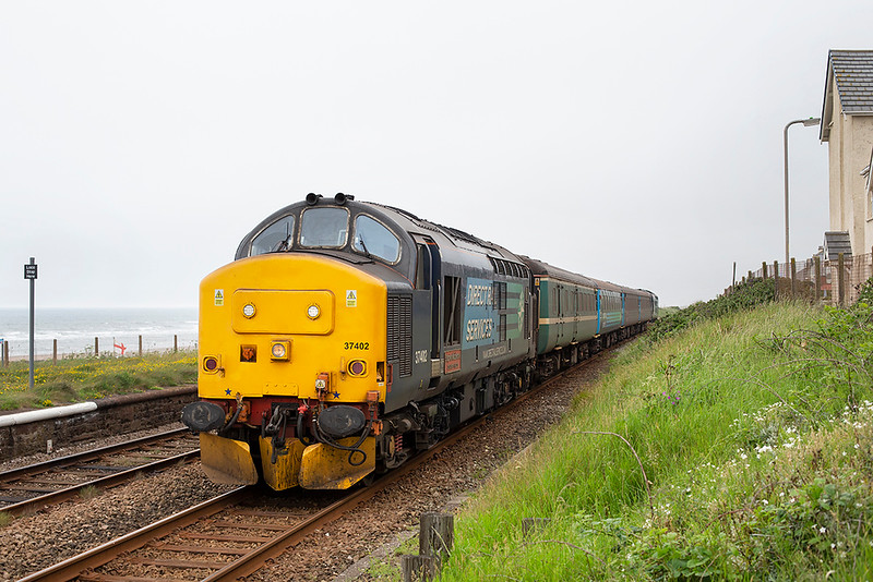 37402 Seascale 26/6/2015<br /> 2C34 1435 Carlisle-Barrow in Furness