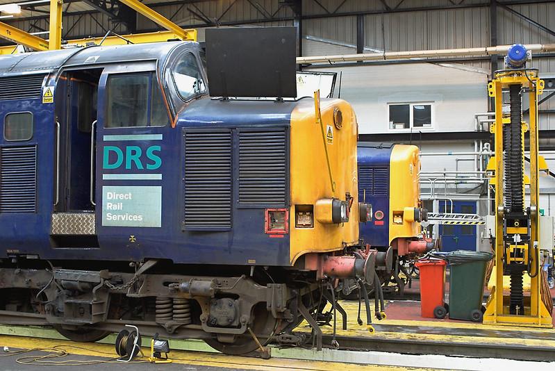 37608 and 37038 Carlisle Kingmoor TMD 7/7/2007