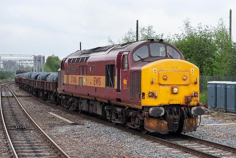 37406 Walsall 24/4/2007<br /> 6D36 1135 Bescot-Burton Yard