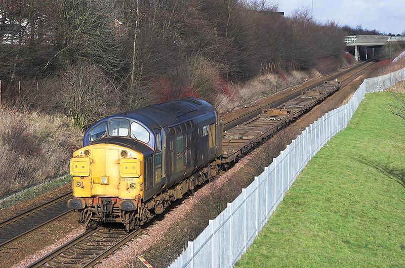 37029 Greenfaulds 15/2/2006<br /> 4M53 1341 Grangemouth-Carlisle Kingmoor