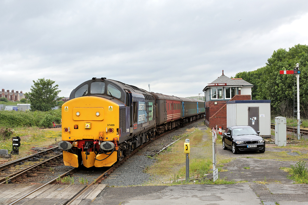 37409 Barrow-in-Furness 26/6/2015<br /> 2C40 0842 Carlisle-Barrow in Furness