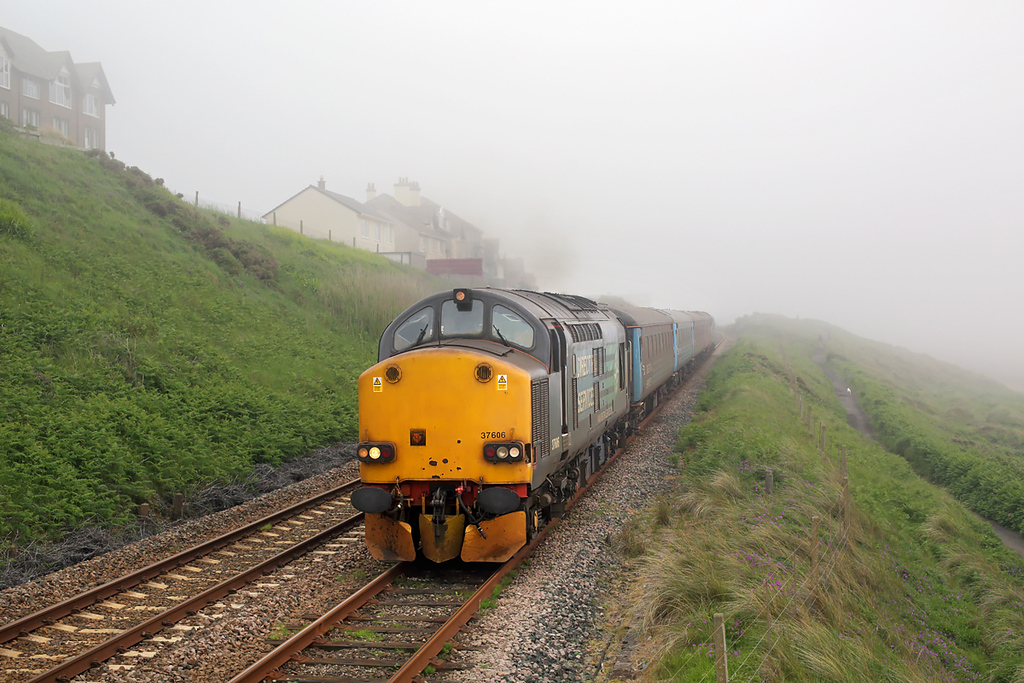 37606 Seascale 26/6/2015<br /> 2C41 1437 Barrow in Furness-Carlisle