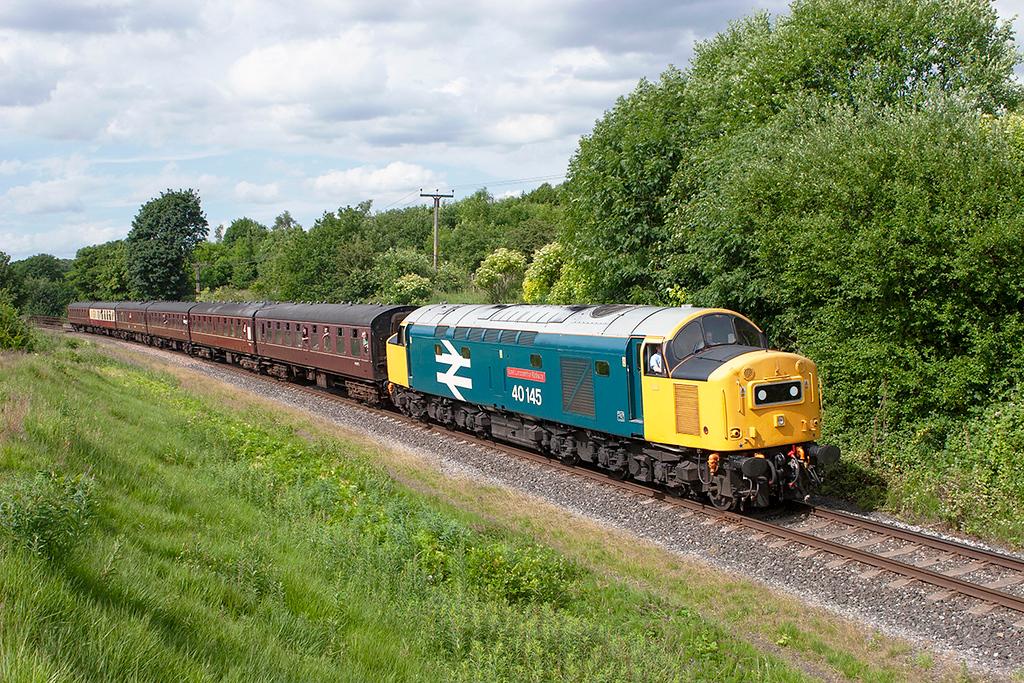 40145 Burrs 2/7/2010<br /> 2J82 1526 Rawtenstall-Heywood