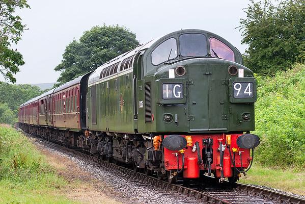 D335 (40135), Irwell Vale 8/7/2007 1J76 1336 Rawtenstall-Heywood