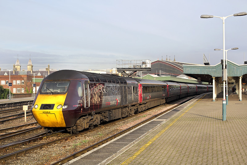 43384 Bristol Temple Meads 23/11/2015<br /> 1V44 0600 Leeds-Plymouth