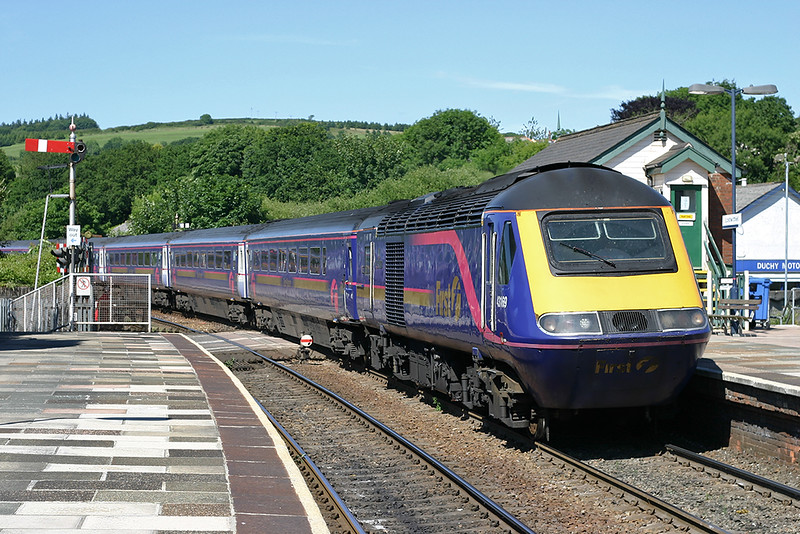 43169 Lostwithiel 22/6/2005<br /> 1C84 1205 London Paddington-Penzance