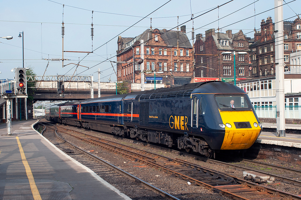 43117 Carlisle 16/9/2006<br /> 1F63 0955 Edinburgh-Newcastle