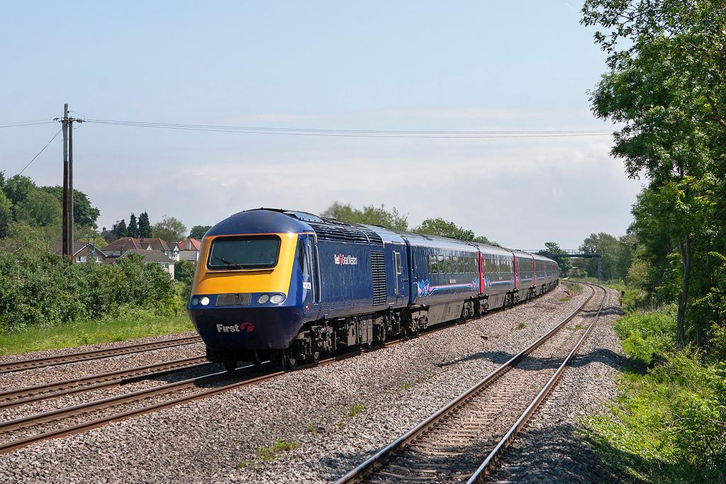 43029 Magor 29/5/2012<br /> 1B22 1015 London Paddington-Cardiff Central