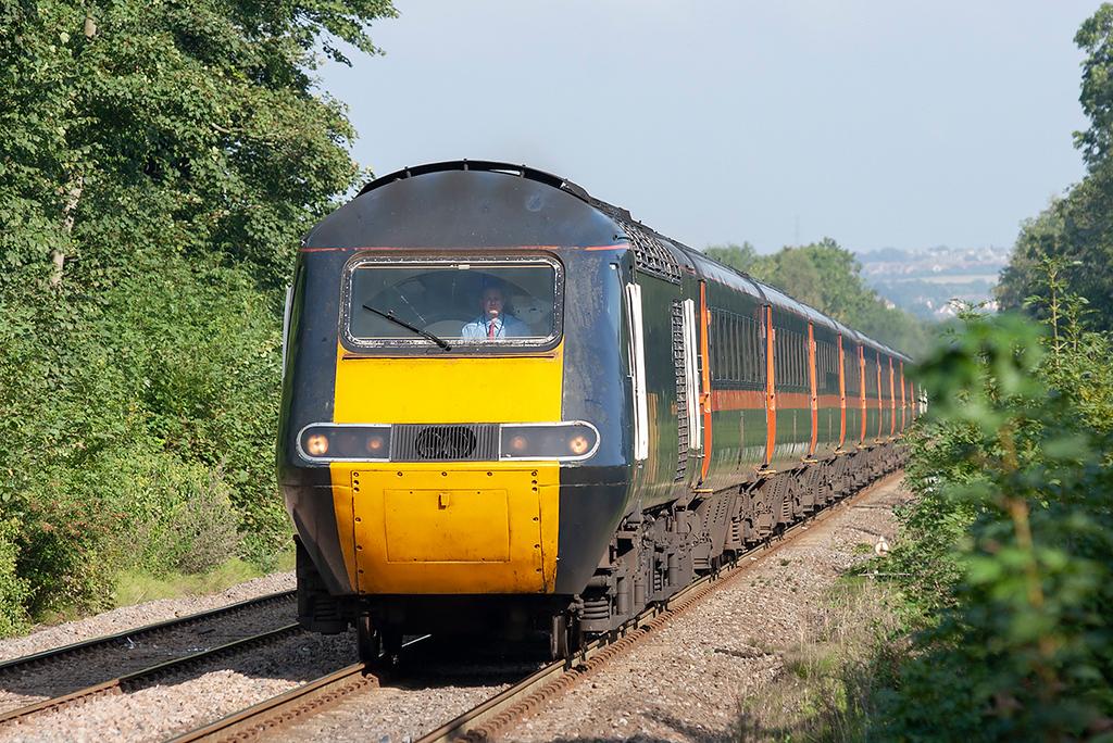 43096 and 43006, Wylam 23/9/2006<br /> 1F26 1432 Newcastle-Edinburgh