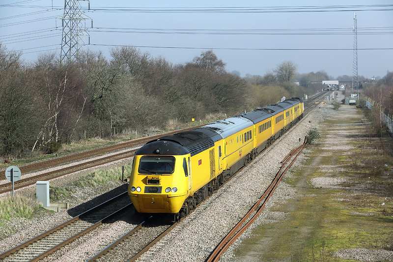 43062 and 43013, North Stafford Junction 14/3/2014<br /> 1Z38 1137 Derby RTC-Derby RTC (via Parson Street Bristol)
