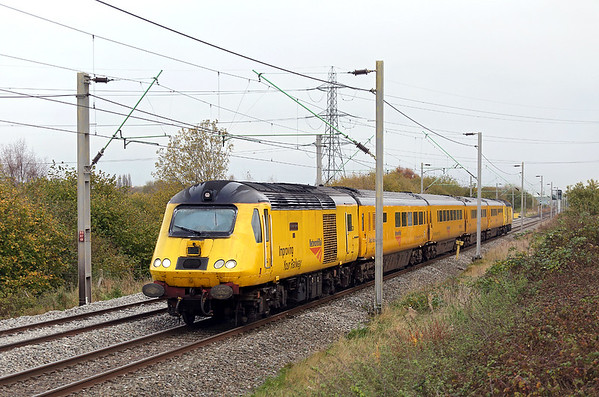 43014 and 43062, Dudley Port 9/11/2017 1Q24 0638 Derby RTC-Chaddesden (via Stockport, Northampton, Stoke on Trent)