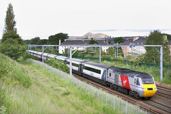 43206 Saughton 18/6/2015 1S16 1200 London Kings Cross-Inverness