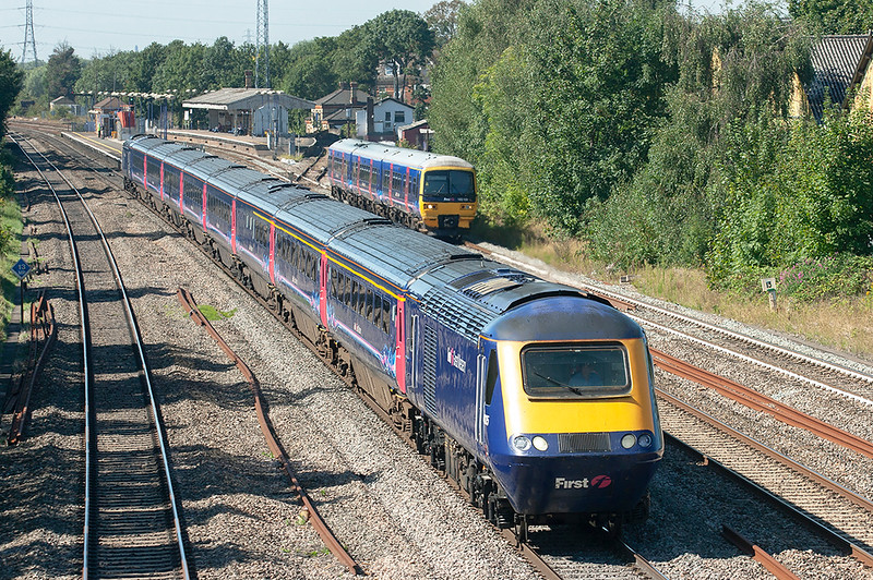 43135 and 43029, West Drayton 7/9/2012<br /> 1A16 0741 Penzance-London Paddington