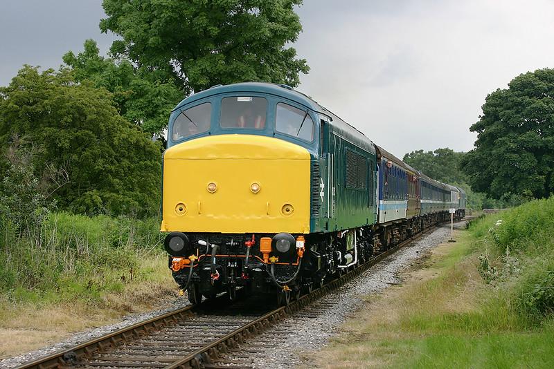45135 and 47402 Irwell Vale 7/7/2005<br /> 1J12 1222 Rawtenstall-Heywood