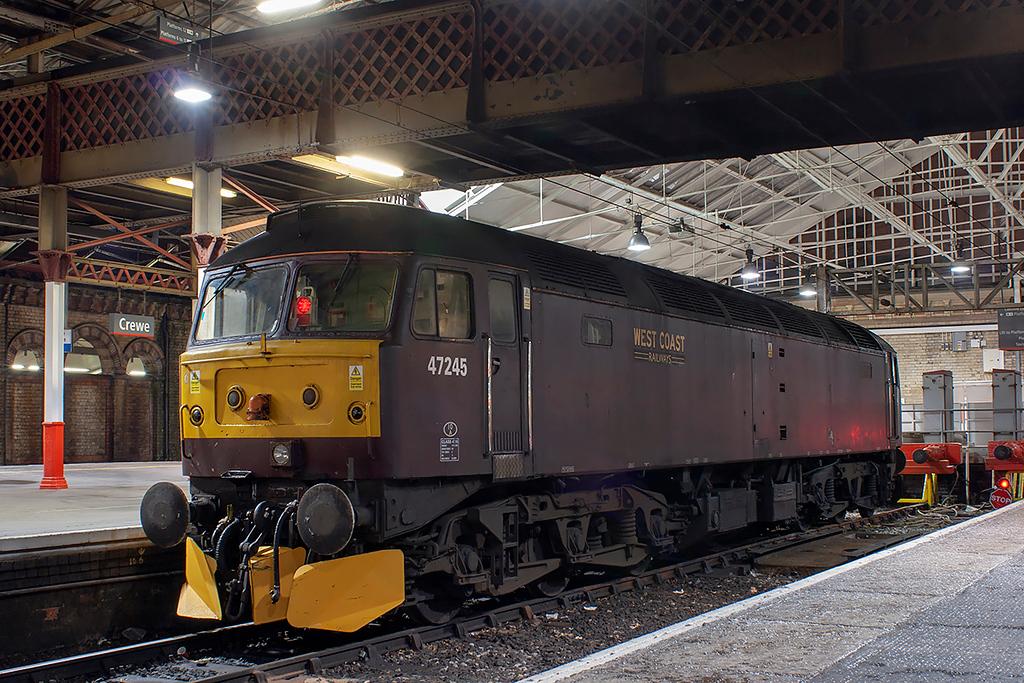 47245 Crewe 17/1/2013
