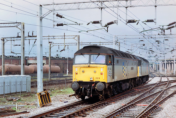 47223 and 47355, Bescot 7/3/1992