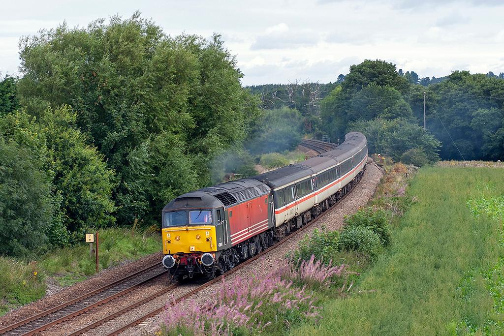 47841 Dorrington 27/8/2005<br /> 1Z48 0830 Manchester Piccadilly-Cardiff Central
