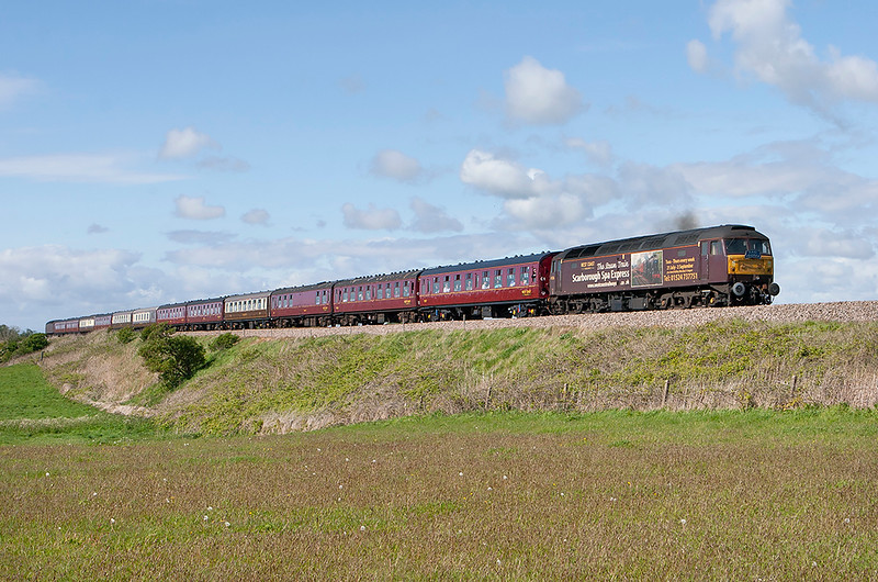 47826 Weeton 16/5/2012<br /> 1Z75 1549 Blackpool North-Skegness