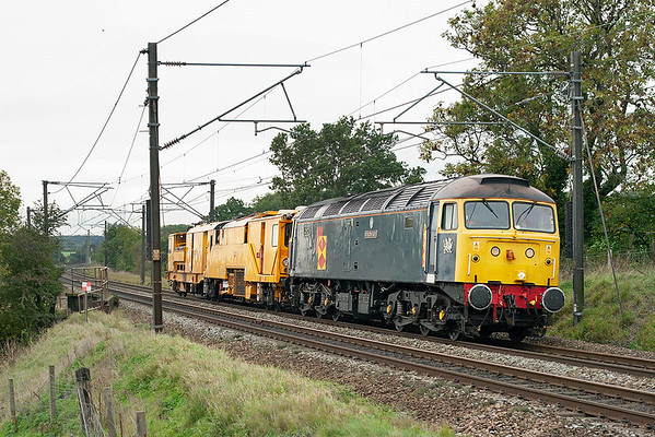 47145 Acton Bridge 23/10/2006 6Z59 1006 Carstairs Up Sidings-Crewe DRS