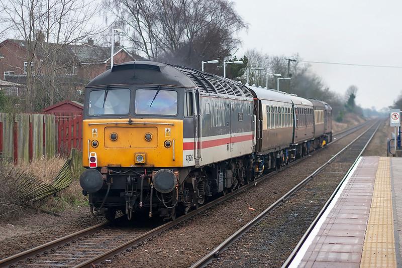 47826 and 33207, Langho 7/1/2006<br /> 1Z33 1230 Carnforth-Carnforth (via Hellifield, Blackburn and Preston)
