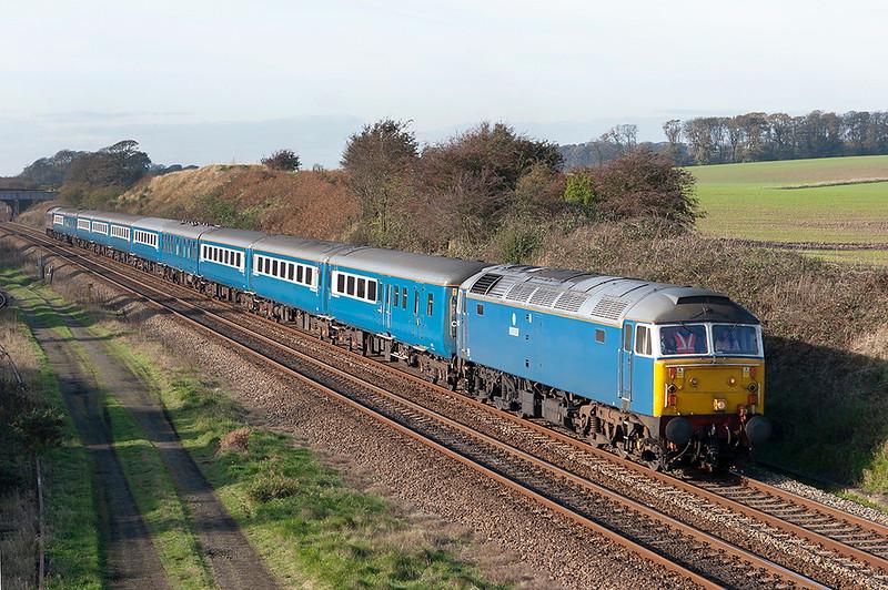 47712 and 47703, Kirkham Tip 3/11/2006<br /> 5Z67 1258 Blackpool North-Preston