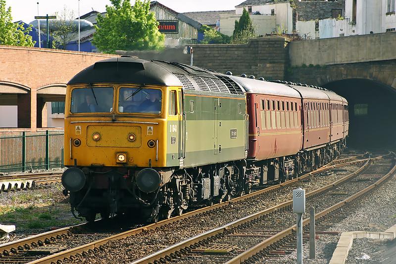 47851 Blackburn 21/5/2005<br /> 5Z60 0423 Carnforth-Blackburn