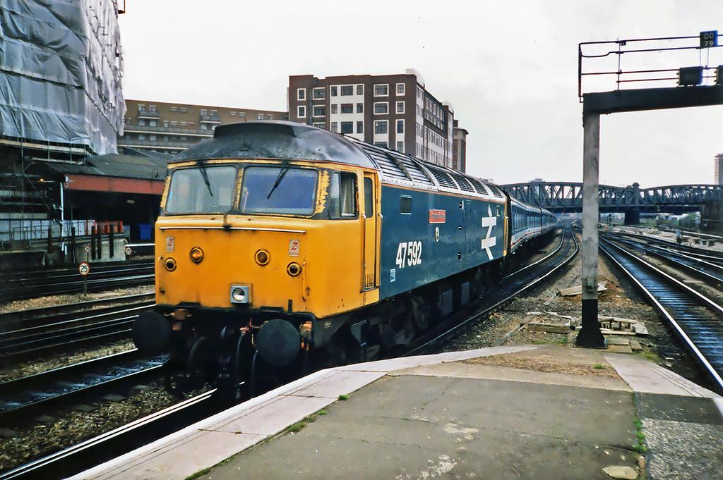 47592 London Paddington 21/5/1991