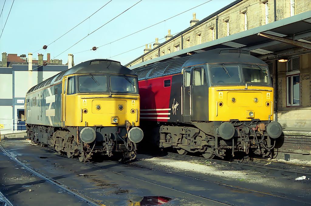 47847 and 47810, Preston 24/1/2003