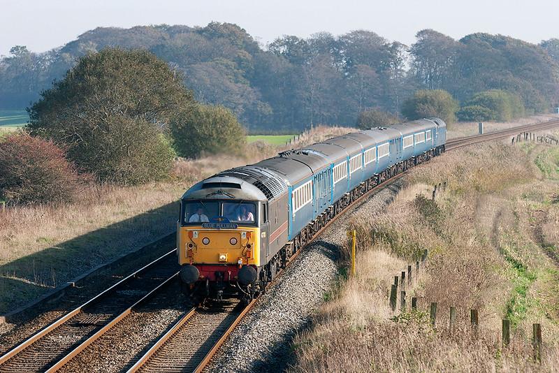 47703 and 47712, Treales 3/11/2006<br /> 1Z66 0844 London Euston-Blackpool North