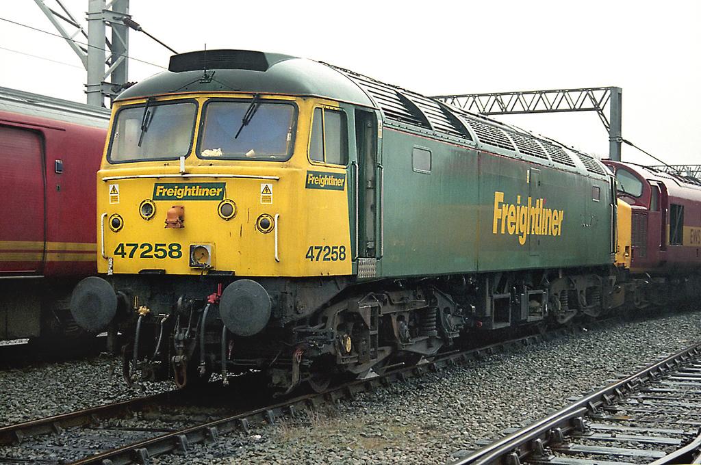 47258 Crewe 26/1/2003