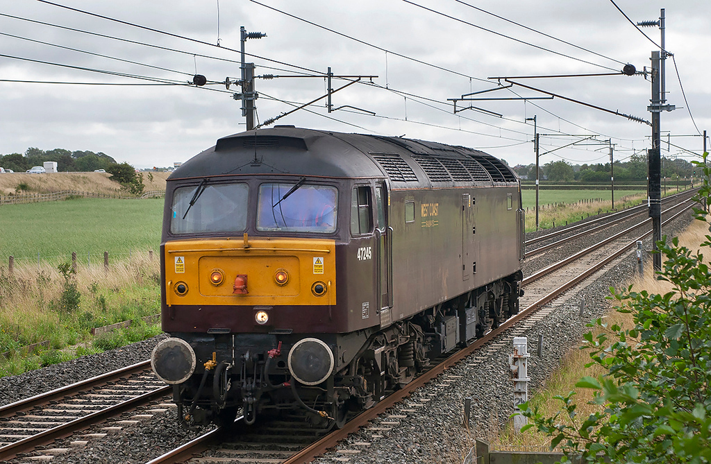 47245 Brock 4/9/2006<br /> 0Z47 0904 Tyseley-Carnforth