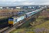 47853 and 47818, Buckshaw Parkway 20/12/2014<br /> 2Z05 0932 Manchester Victoria-Preston