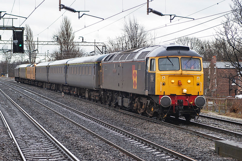 47145 and 47355, Levenshulme 27/3/2006<br /> 1Z18 0653 Derby RTC-Derby RTC (via Manchester Piccadilly)