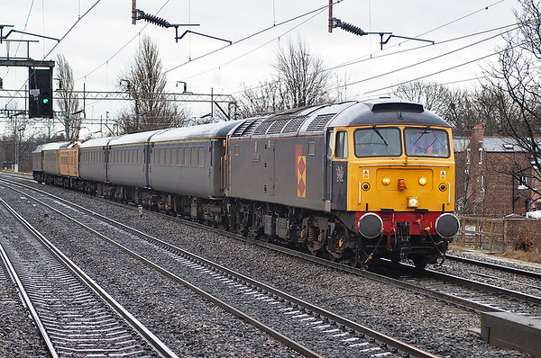 47145 and 47355, Levenshulme 27/3/2006 1Z18 0653 Derby RTC-Derby RTC (via Manchester Piccadilly)