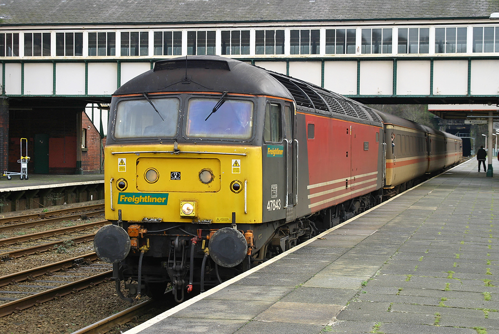 47843 Bangor 2/2/2005<br /> 1D37 1003 Manchester Piccadilly-Holyhead