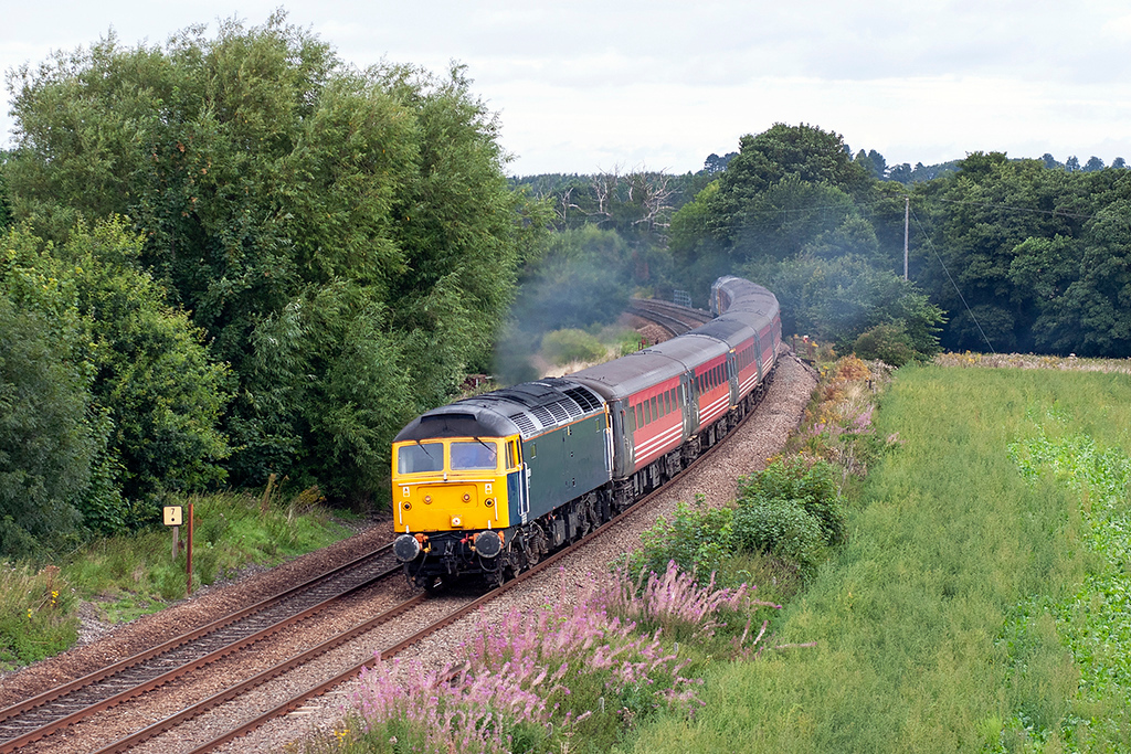 47839 Dorrington 27/8/2005<br /> 1Z47 0802 Manchester Piccadilly-Cardiff Central