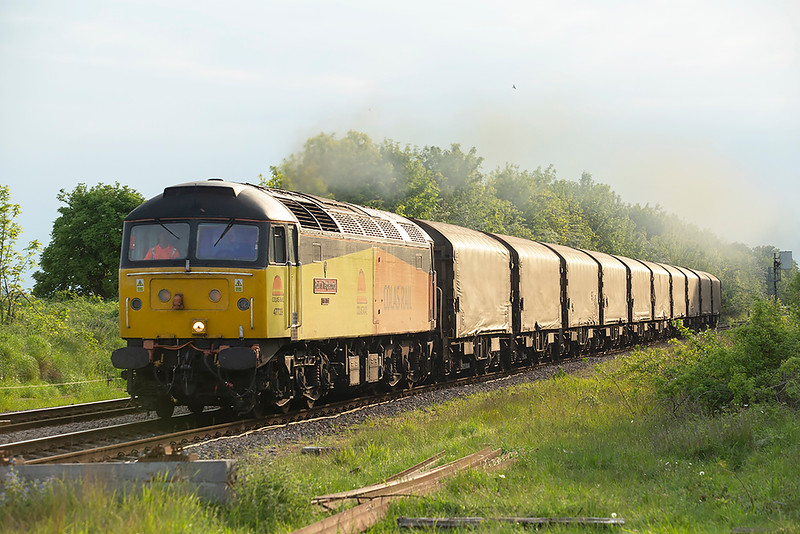 47739 Ancaster 15/5/2014<br /> 6E07 1450 Washwood Heath-Boston Docks