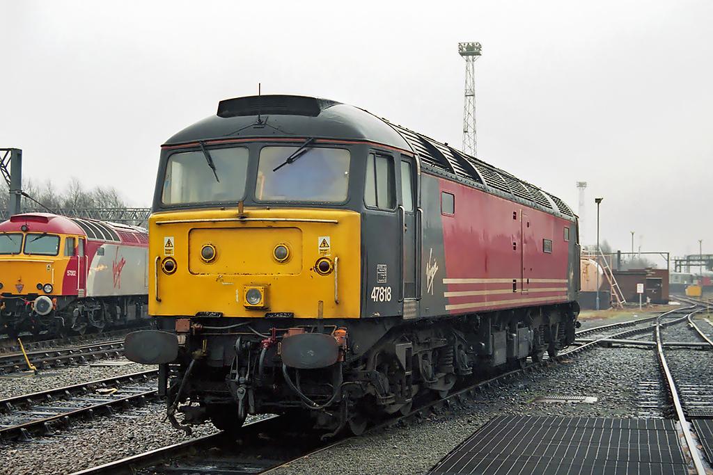 47818 Crewe 26/1/2003