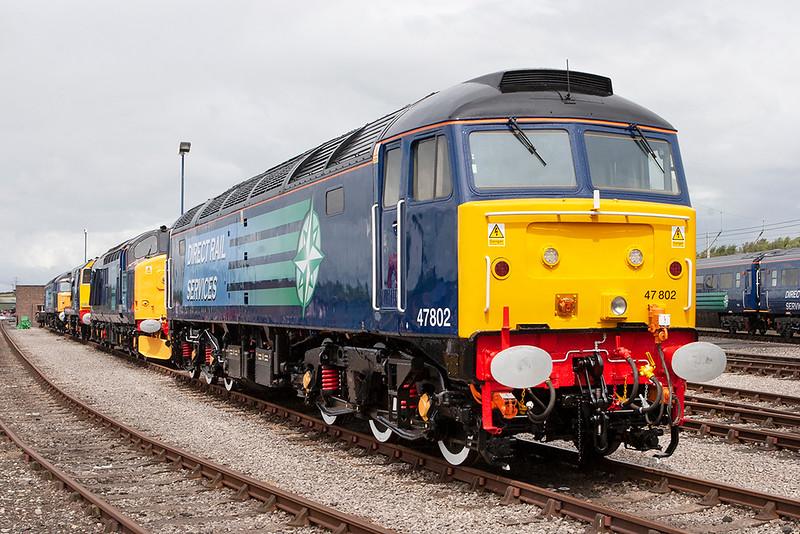 47802, 37688, 20311 and 57011, Carlisle Kingmoor 7/7/2007