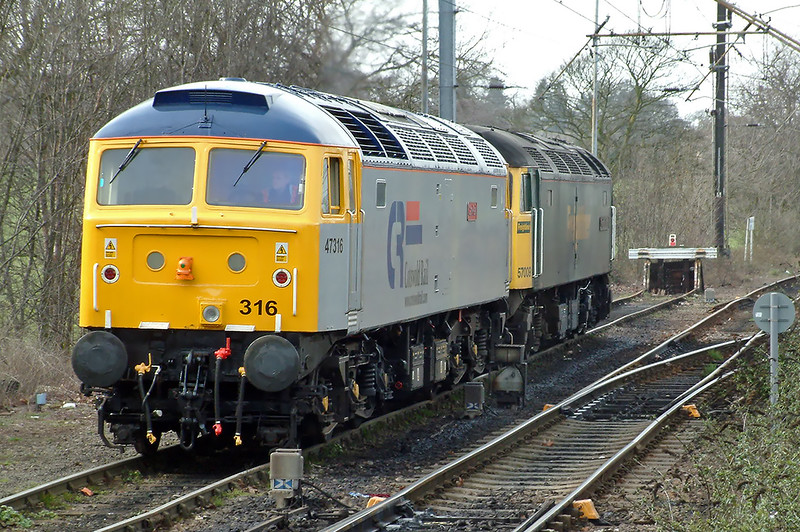 47316 and 57009, Ipswich 15/3/2004